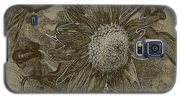Bronzed Out Sunflower Galaxy S5 Case