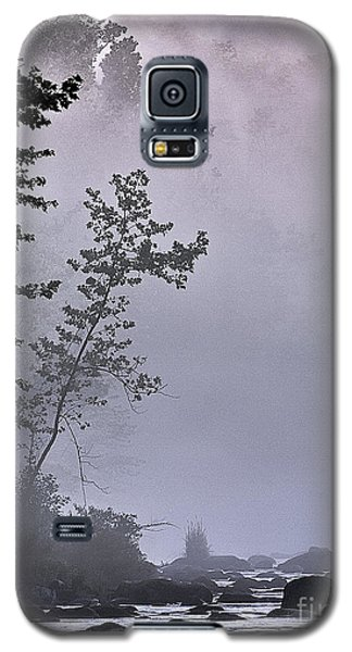 Galaxy S5 Case featuring the photograph Brooding River by Tom Cameron