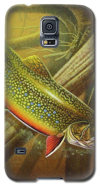 Trout Galaxy S5 Case - Brook Trout Cover by JQ Licensing