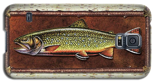 Trout Galaxy S5 Case - Brook Trout Lodge by JQ Licensing