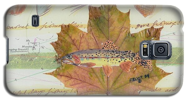 Brook Trout On Fly #2 Galaxy S5 Case