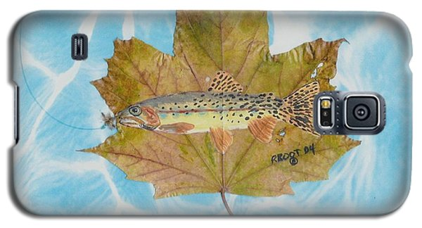 Brook Trout On Fly Galaxy S5 Case by Ralph Root