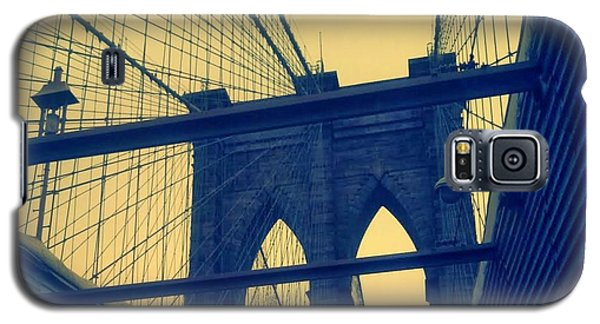New York City's Famous Brooklyn Bridge Galaxy S5 Case