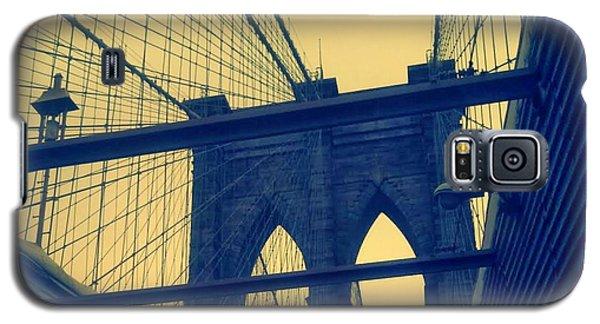 New York City's Famous Brooklyn Bridge Galaxy S5 Case