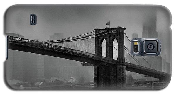 Brooklyn Bridge In A Storm 2 Galaxy S5 Case