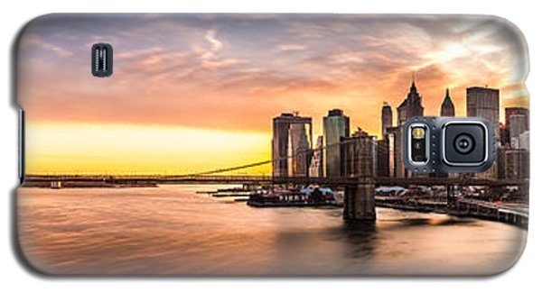 Brooklyn Bridge Panorama Galaxy S5 Case