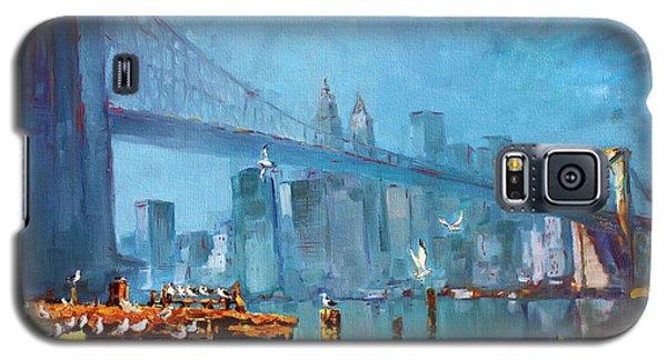 Brooklyn Bridge Galaxy S5 Case by Ylli Haruni