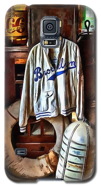 Brooklyn Dodgers Baseball  Galaxy S5 Case by Thom Zehrfeld