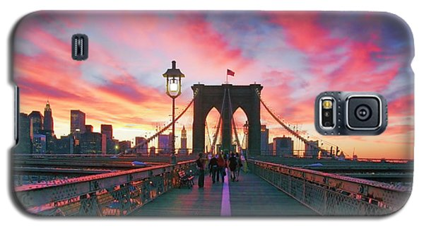 Sunset Galaxy S5 Case - Brooklyn Sunset by Rick Berk