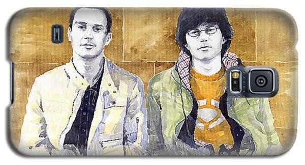 Portret Galaxy S5 Case - Brothers  by Yuriy Shevchuk