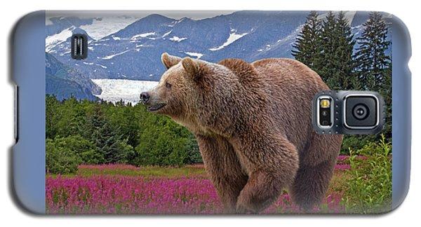 Brown Bear 2 Galaxy S5 Case