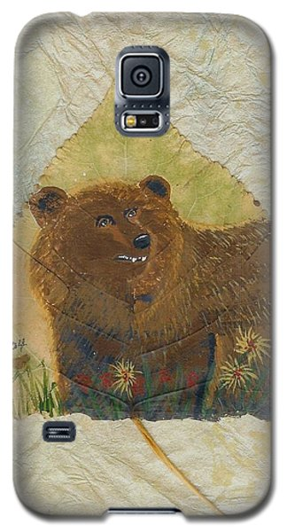 Brown Bear Galaxy S5 Case