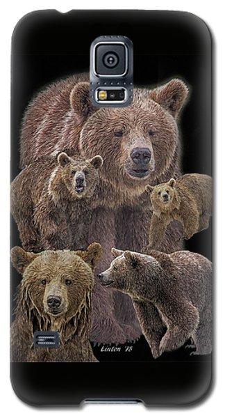 Brown Bears 8 Galaxy S5 Case
