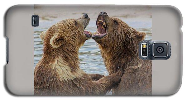 Brown Bears4 Galaxy S5 Case