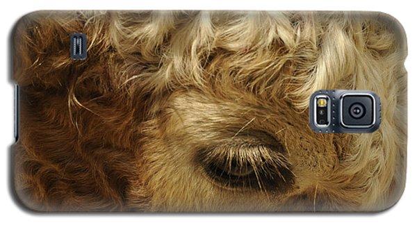 Brown Eyes Galaxy S5 Case