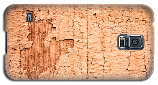 Galaxy S5 Case featuring the photograph Brown Paint Texture by John Williams