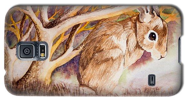 Brown Rabbit Galaxy S5 Case