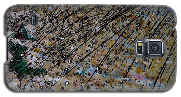 Brown Splatter Galaxy S5 Case