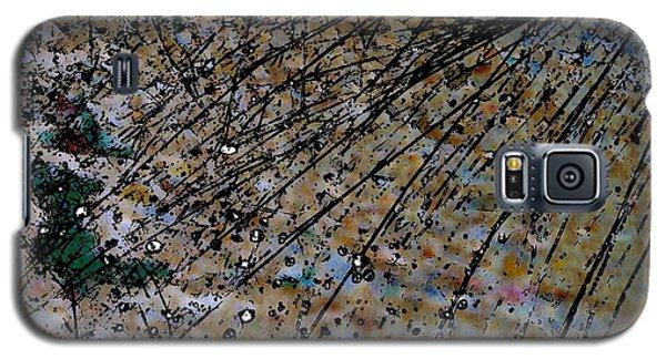 Brown Splatter Galaxy S5 Case