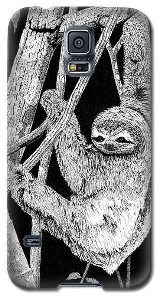 Brown-throated Three-toed Sloth Galaxy S5 Case