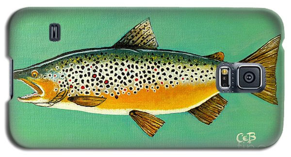 Brown Trout Galaxy S5 Case