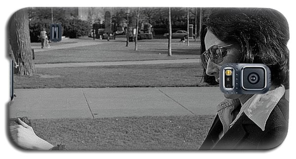 Brown University Student And His Mother, 1975 Galaxy S5 Case