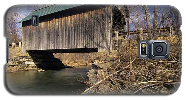 Brownsville Covered Bridge - Brownsville Vermont Galaxy S5 Case