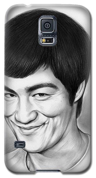 Bruce Lee Galaxy S5 Case by Greg Joens
