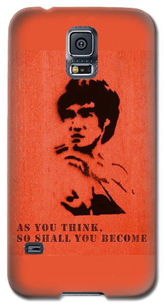 Bruce Lee - So Shall You Become Galaxy S5 Case by Richard Reeve