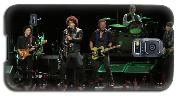 Bruce Springsteen And The E Street Band Galaxy S5 Case by Melinda Saminski