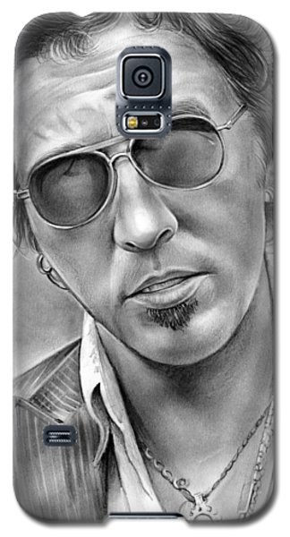 Bruce Springsteen Galaxy S5 Case by Greg Joens