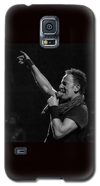 Galaxy S5 Case featuring the photograph Bruce Springsteen In Cleveland by Jeff Ross