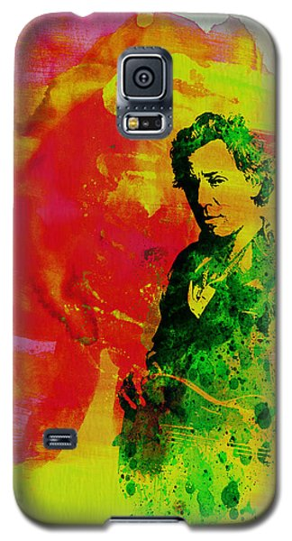 Bruce Springsteen Galaxy S5 Case by Naxart Studio