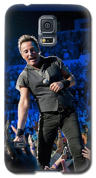 Bruce Springsteen La Sports Arena Galaxy S5 Case by Jeff Ross