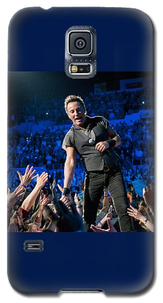 Galaxy S5 Case featuring the photograph Bruce Springsteen La Sports Arena by Jeff Ross