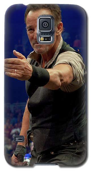 Bruce Springsteen. Pittsburgh, Sept 11, 2016 Galaxy S5 Case by Jeff Ross