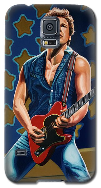 Bruce Springsteen The Boss Painting Galaxy S5 Case
