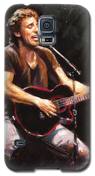 Bruce Springsteen  Galaxy S5 Case by Ylli Haruni