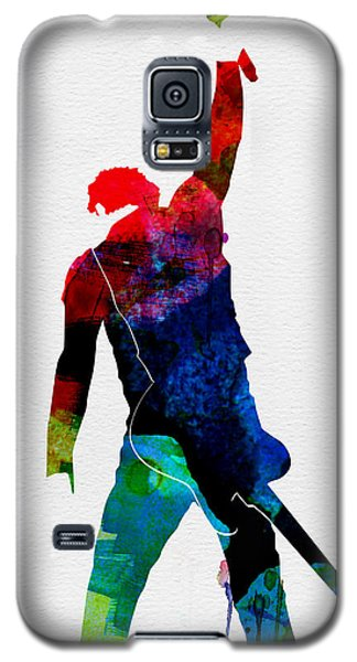 Musicians Galaxy S5 Case - Bruce Watercolor by Naxart Studio