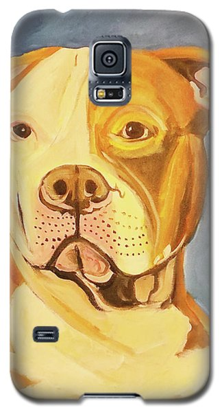 Galaxy S5 Case featuring the painting Bruiser by John Keaton