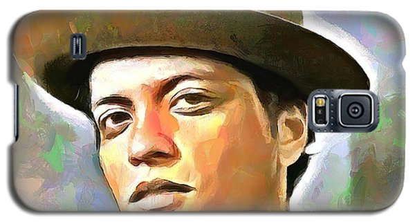 Bruno Mars Galaxy S5 Case by Wayne Pascall