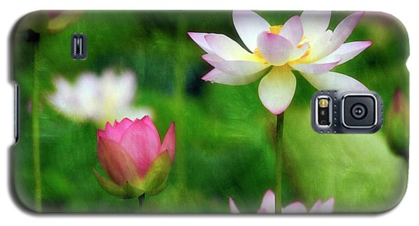 Galaxy S5 Case featuring the photograph Brushed Lotus by Edward Kreis