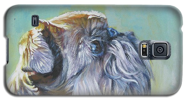 Brussels Griffon With Butterfly Galaxy S5 Case