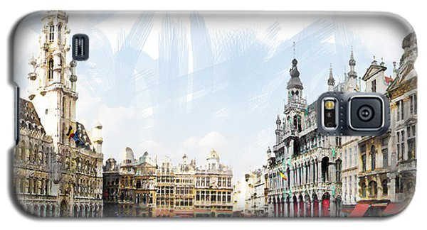 Brussels Grote Markt  Galaxy S5 Case by Tom Cameron
