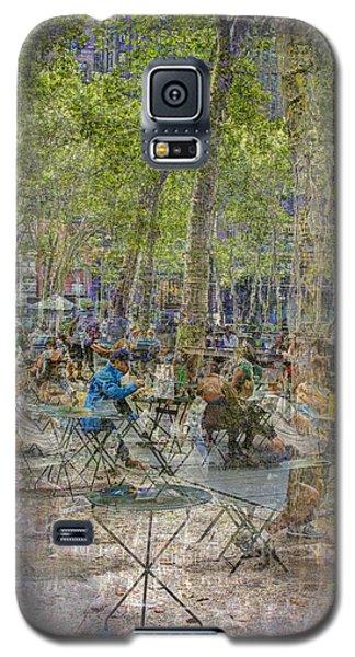Bryant Park Collage 2 Galaxy S5 Case