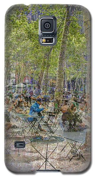Bryant Park Collage 2 Galaxy S5 Case by Dave Beckerman