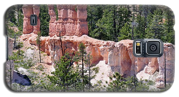 Galaxy S5 Case featuring the photograph Bryce Canyon Backcountry by Bruce Gourley
