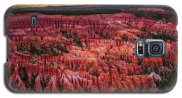 Bryce Canyon In The Glow Of Sunset Galaxy S5 Case