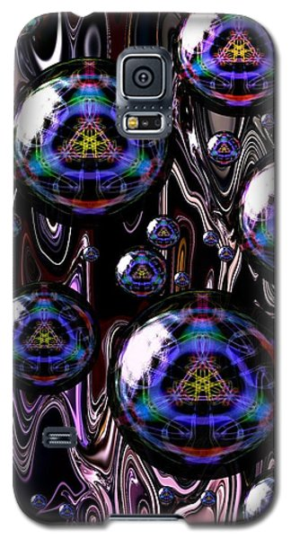 Bubble Abstract 1a Galaxy S5 Case
