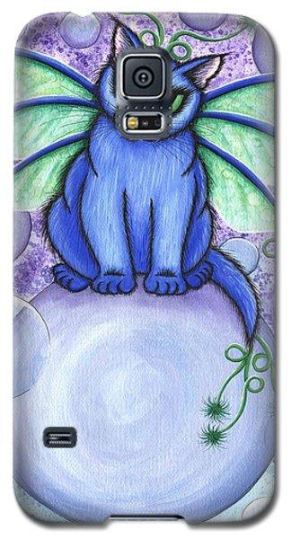 Bubble Fairy Cat Galaxy S5 Case
